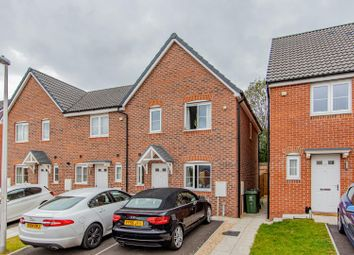 Thumbnail 3 bed semi-detached house for sale in George Crescent, Old St. Mellons, Cardiff
