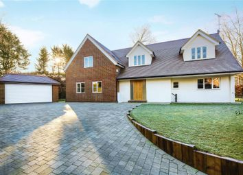 Thumbnail 5 bed detached house for sale in Spenser Avenue, Weybridge, Surrey