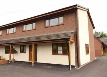 Thumbnail 3 bedroom semi-detached house for sale in 2, Rectory View, Berriew, Welshpool, Powys