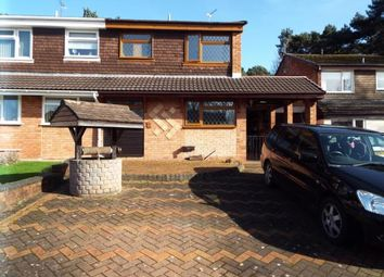 Thumbnail 3 bed semi-detached house for sale in Carmel Close, Hednesford, Cannock, Staffordshire