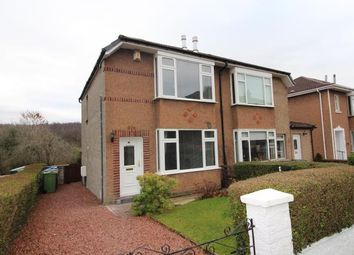 Thumbnail 2 bed semi-detached house to rent in Stamperland Gardens, Clarkston, Glasgow