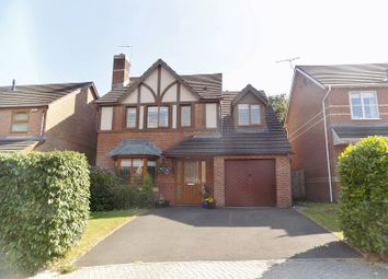 Thumbnail 4 bed detached house for sale in Derwen Las, Broadlands, Bridgend.