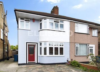 Thumbnail 3 bed semi-detached house for sale in Winchester Road, Kenton, Harrow