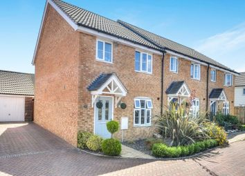 Thumbnail 3 bed end terrace house for sale in Austin Way, Norwich