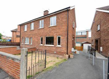 Thumbnail 3 bedroom semi-detached house for sale in Pasadena Gardens, Ballyhackamore, Belfast