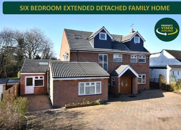 Thumbnail 6 bed detached house for sale in Sackville Gardens, Stoneygate, Leicester