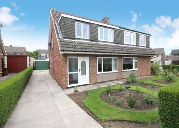 Thumbnail 3 bed semi-detached house for sale in Fosse Way, Garforth, Leeds