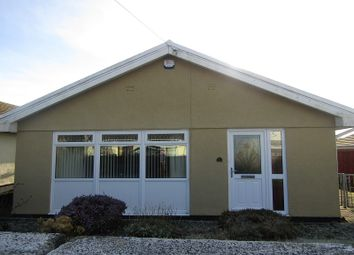 Thumbnail 3 bed detached bungalow for sale in Waun Gyrlais, Penrhos, Ystradgynlais, Swansea.