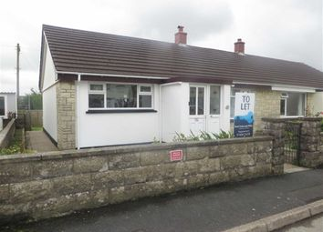 Thumbnail 2 bed semi-detached bungalow to rent in Tuckers Park, Bradworthy, Holsworthy
