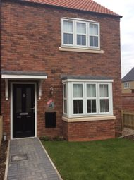 Thumbnail 3 bed end terrace house to rent in Bob Rainsforth Way, Gainsborough