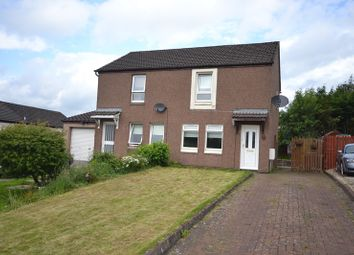 Thumbnail 2 bedroom semi-detached house for sale in Braesburn Place, Cumbernauld