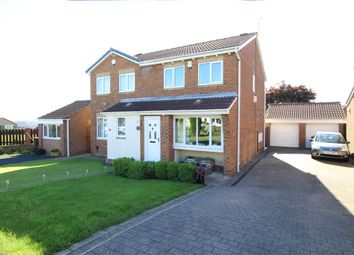 Thumbnail 3 bedroom semi-detached house for sale in Harwill Croft, Churwell, Morley, Leeds