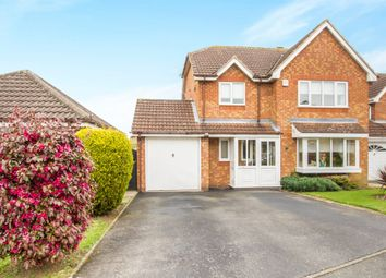 Thumbnail 4 bed detached house for sale in Mount Pleasant, Oadby, Leicester