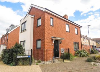 Thumbnail 3 bed detached house for sale in Eris Avenue, Biggleswade