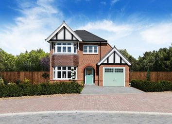 Thumbnail 3 bed detached house for sale in Guinevere Avenue, Stretton, Burton On Trent