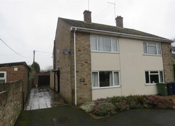 Thumbnail 2 bedroom semi-detached house for sale in Herne Road, Ramsey St. Marys, Ramsey, Huntingdon