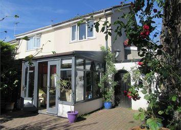 Thumbnail 3 bedroom semi-detached house for sale in Webber Close, Ogwell, Newton Abbot, Devon.