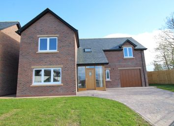 Thumbnail 4 bed detached house for sale in West Lane Close, Kirkbride, Wigton