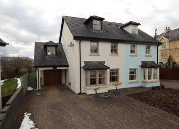 Thumbnail 4 bed semi-detached house for sale in St. Johns Court, Brecon