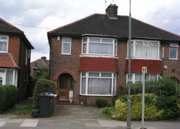 Thumbnail 4 bed semi-detached house to rent in The Vale, Golders Green