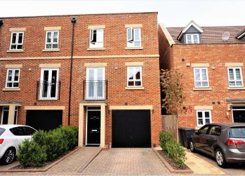Thumbnail 4 bed end terrace house for sale in Denman Drive, Newbury