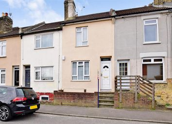Thumbnail 2 bed terraced house for sale in Victoria Road, Chatham, Kent