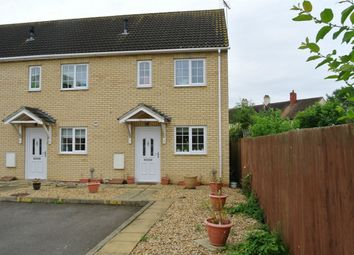 Thumbnail 2 bedroom end terrace house for sale in Bowberry Close, Eye, Peterborough, Cambridgeshire