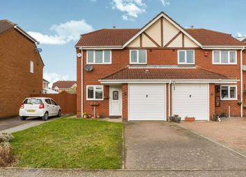 Thumbnail 3 bed semi-detached house for sale in Hillesden Avenue, Elstow, Bedford, Bedfordshire