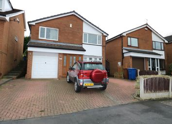 Thumbnail 4 bedroom detached house for sale in Shearwater Road, Offerton, Stockport