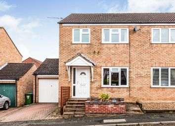 Thumbnail 3 bed semi-detached house for sale in Orchids Close, Bungay