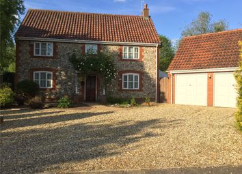 Thumbnail 4 bed detached house for sale in Watton Road, Wretham, Thetford, Norfolk
