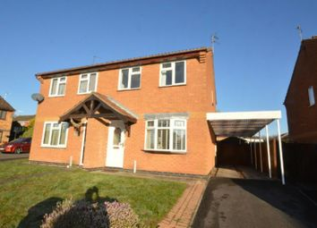 Thumbnail 3 bed semi-detached house for sale in Hubbard Close, Whetstone, Leicester