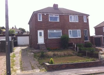 Thumbnail 2 bed semi-detached house to rent in Whitley View Road, Kimberworth, Rotherham