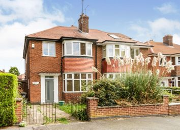 Thumbnail 3 bed semi-detached house for sale in Buckminster Road, Leicester