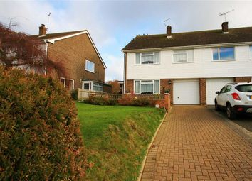 Thumbnail 4 bed semi-detached house for sale in Austen Way, Hastings, East Sussex