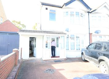 Thumbnail 2 bed semi-detached house to rent in Bishopscote Rd, Luton