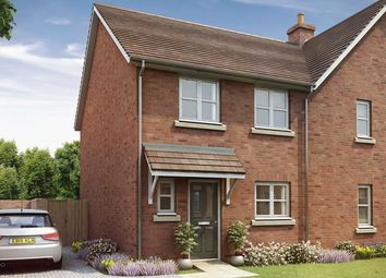 "Thumbnail 3 bed terraced house for sale in ""The Eveleigh"" at Crow Lane, Crow, Ringwood"