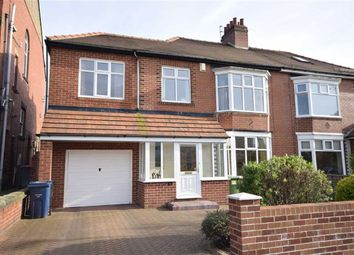 Thumbnail 4 bed semi-detached house for sale in Grosvenor Road, South Shields