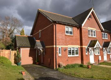 Thumbnail 2 bed end terrace house for sale in Old School Close, Fleet