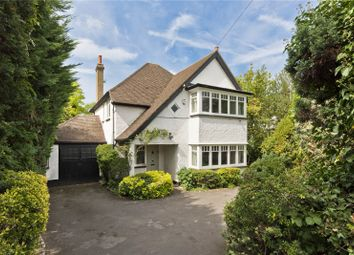 Thumbnail 4 bed detached house for sale in Ember Lane, East Molesey, Surrey