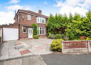 Thumbnail 3 bedroom semi-detached house for sale in Newlands Drive, Didsbury, Manchester, Gtr Manchester