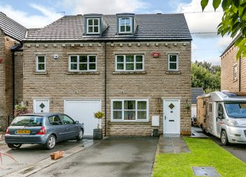 Thumbnail 3 bed end terrace house for sale in Copley Drive, Copley, Halifax