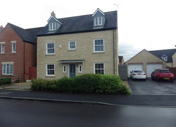 Thumbnail 5 bed detached house to rent in Phoebe Way, Swindon, Wiltshire