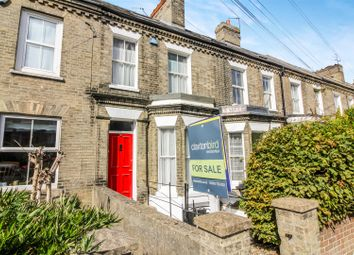 Thumbnail 3 bed terraced house for sale in Mill Hill Road, Norwich