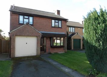 Thumbnail 4 bedroom detached house for sale in Link Rise, Markfield, Leicestershire