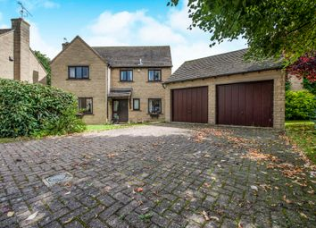 Thumbnail 4 bed detached house for sale in Crabtree Park, Fairford