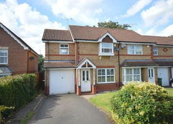 Thumbnail 3 bed town house for sale in Holly Court, Oadby, Leicester