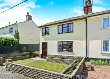 Thumbnail 4 bed semi-detached house for sale in White Elm Road, Woolpit, Bury St. Edmunds
