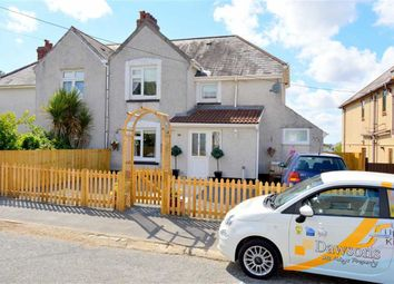 Thumbnail 4 bedroom semi-detached house for sale in Abercedi, Penclawdd, Swasnea