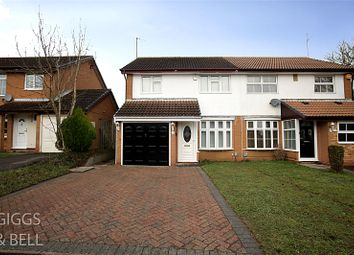 3 bed semi-detached house for sale in Kershaw Close, Luton, Bedfordshire LU3